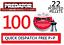 JSB PREDATOR Polymag Pantaloncini Air Rifle PELLETS .22 Sample Pack 100 Quantità Nuove