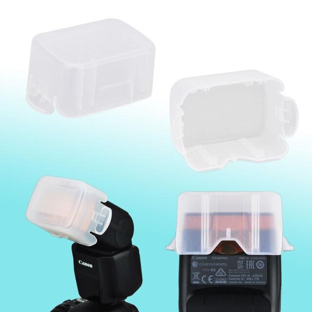 Canon Speedlite 430EX III-RT Flash Bounce Diffuser Soft Dome Semitransparent JJC