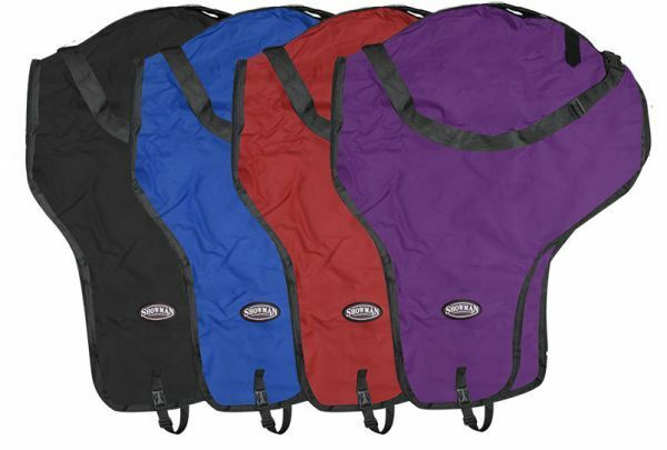 Showman Western SADDLE CARRIER Nylon Case with Full Zipper  & Shoulder Strap  fantastic quality