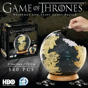 Details about 4D Cityscape Game of Thrones 3D 9