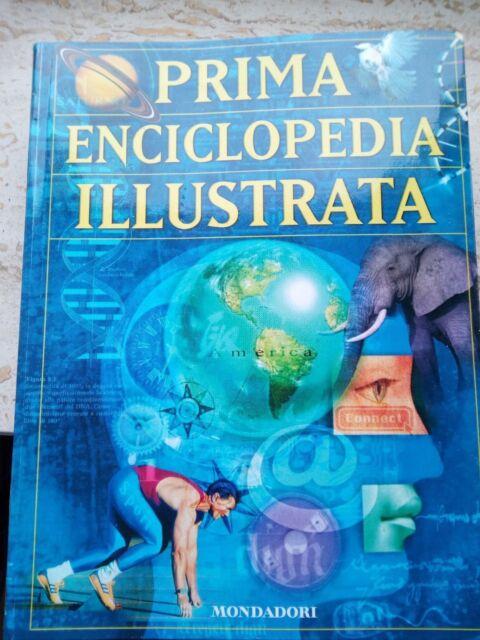 PRIMA ENCICLOPEDIA ILLUSTRATA Mondadori di ragazzi dizionario enciclopedico 2000