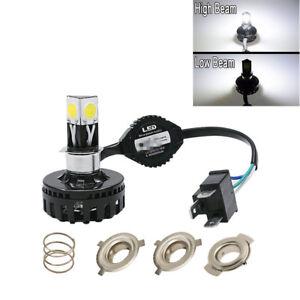 Bombilla Luz H4 LED Faros Motocicleta Hilo Lámpara De LSzpVqUGM