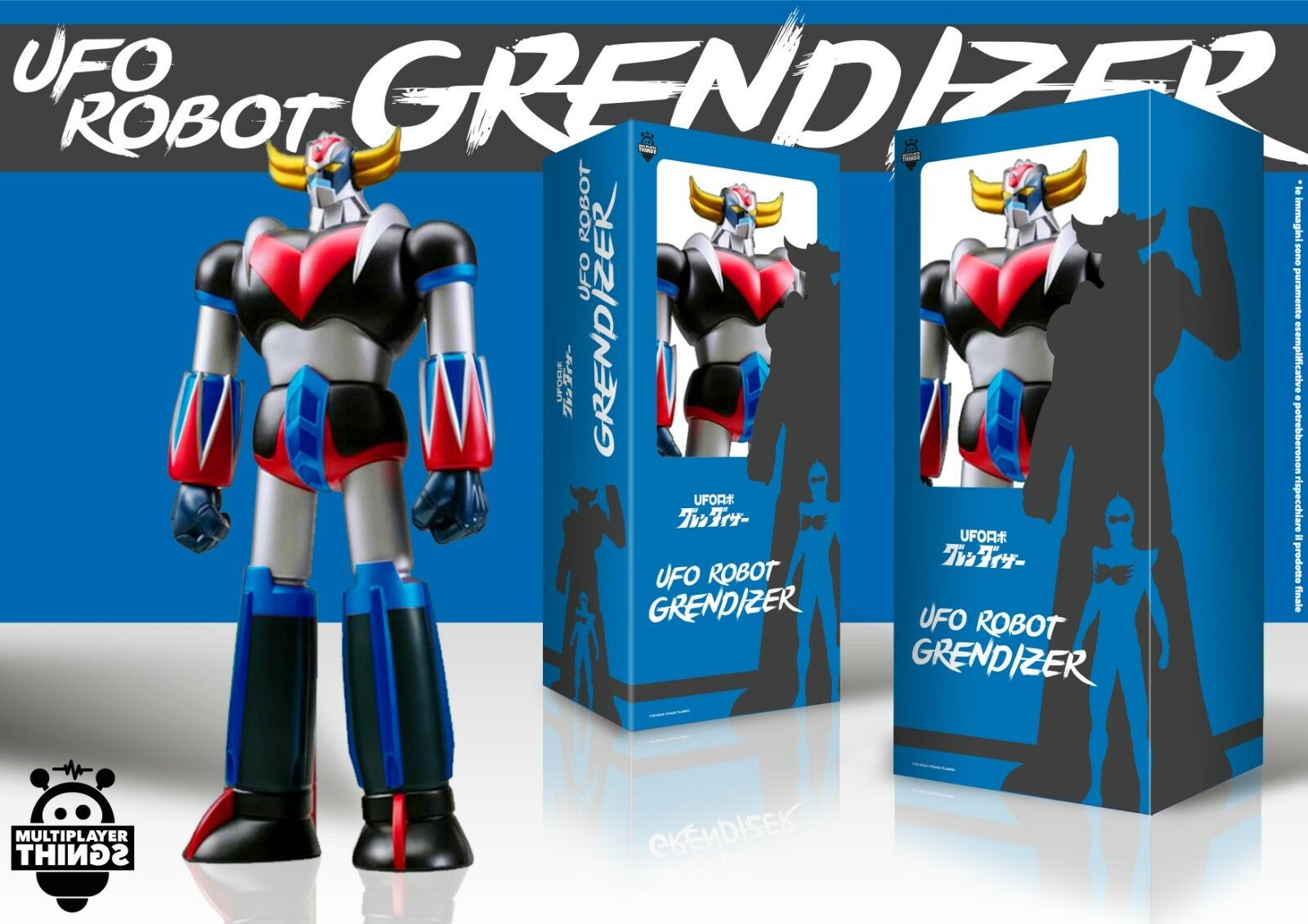Atlas UFO Robot goldrake Grendizer goldorak Weathering Colour Ver. 23 5 8in
