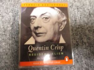 Resident-Alien-By-Quentin-Crisp-Audiobook-on-Cassettes-Exc