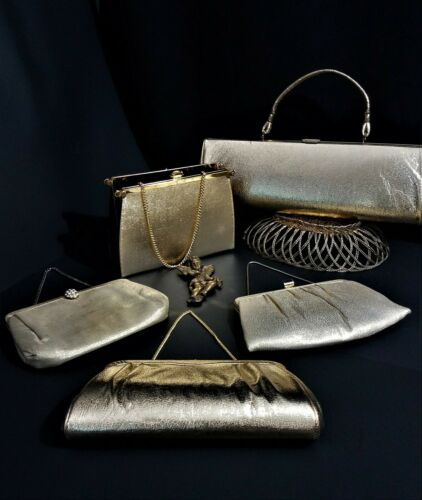 Vintage 1940s 1950s Purse Handbag Lot