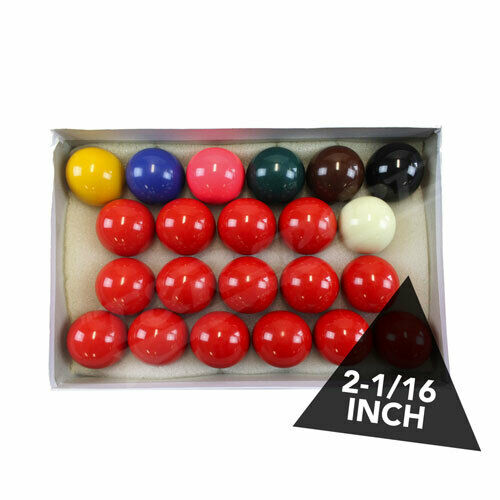 2-1/16 Inch Billiard Snooker Ball Set