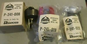 RIVAROSSI-BOWKER-PARTS-LOT-A-MOTOR-241-008-UNDER-FRAME-241-022-TENDER-SHELL