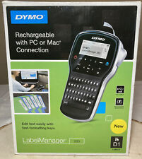 Dymo Label Manager 280 Rechargeable Usb Handheld Labeler New Open Box