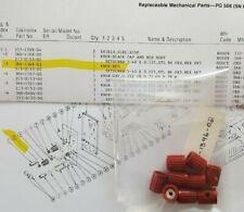 Tektronix Pg 506 Knob 366 1346 02 Red