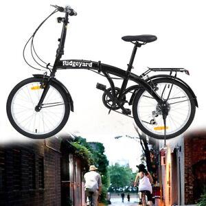 ridgeyard 20 zoll bike fahrrad klapprad kinderfahrrad kinder jungen kind rad ebay. Black Bedroom Furniture Sets. Home Design Ideas