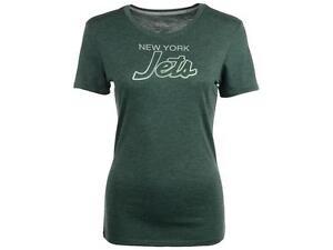 ecbe7c78c Nike ~ New York Jets Women s Script Tri-Blend Shirt  34 NWT