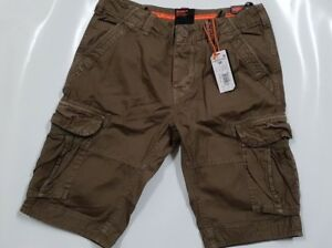 Details zu Superdry M71000TQF50D6 Core Cargo Lite Shorts Holiday Oakwood