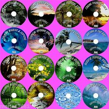SOUNDS OF NATURE 16 SOOTHING AUDIO CDS WATER WIND BEACH WAVES THUNDER ETC NEW