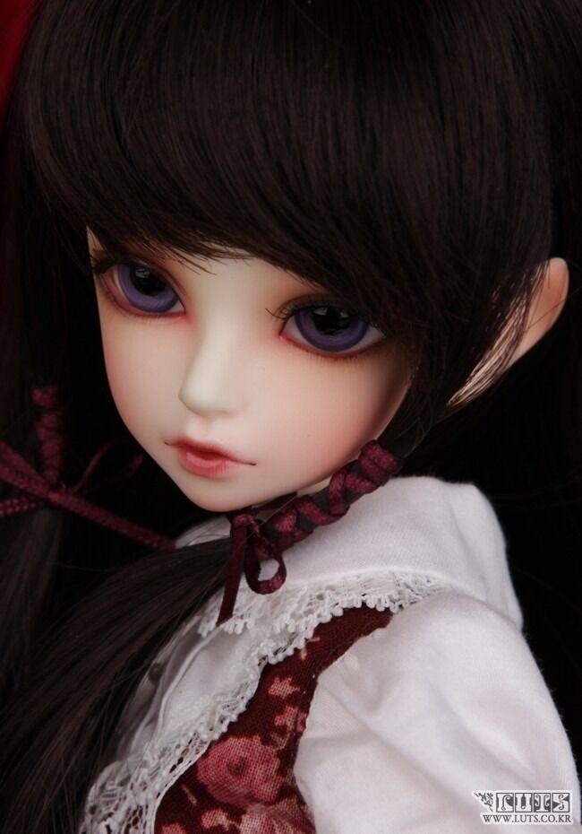 1 4 BJD Doll SD Doll Kid Delf Girl Kiwi -Free Face Make UP+ Eyes