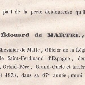 Edouard-De-Martel-Verneuil-Eure-1873-Chevalier-de-Malte