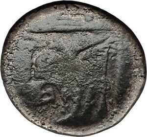 Akarnanian-League-Akarnania-250BC-Athena-River-God-Archelous-Greek-Coin-i59614