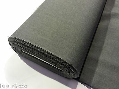 7.5oz Denim Jeans Fabric - 160cm/63 inches wide - Blue / Grey Dry Denim