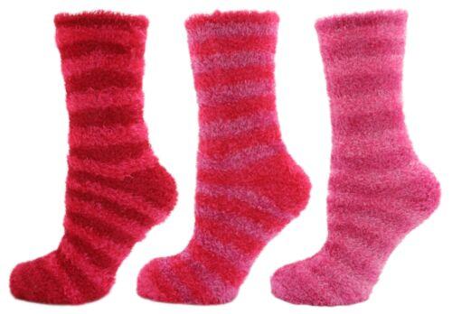 JA Striped Luxury Feather Touch Socks UK 4-8