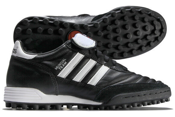 Adidas Mundial Team Astro Black White Football Trainers 019228 Size UK 8 - 12