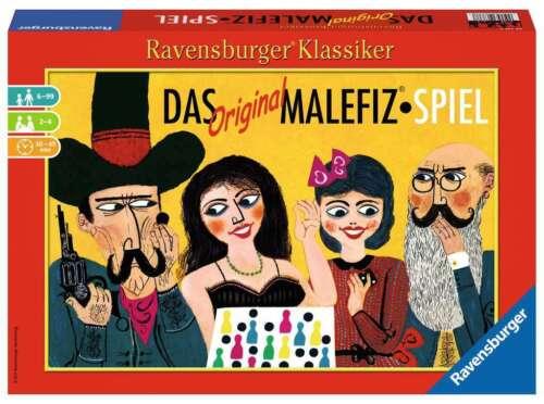 Ravensburger Original Malefiz-Spiel Familienspiel Würfelspiel Klassiker