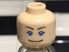 LEGO NEW CRUNCHER/'S DRIVER GIRL FEMALE MINIFIGURE WITH TIE FLESH COLORED HEAD