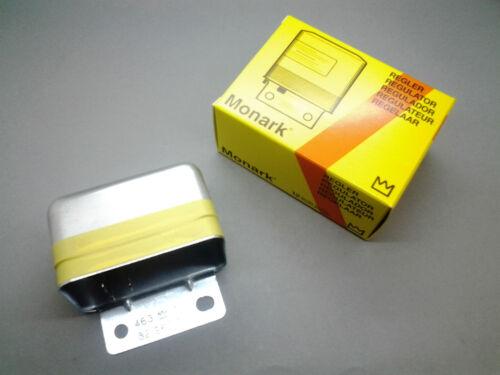 Lichtmaschine MONARK Regler für RENAULT OLDTIMER Generator regulator