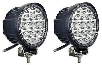 2pcs - 42W LED SPOT WORK LIGHT LAMP OFFROAD 4X4 JOHN DEERE GATOR TRACTOR