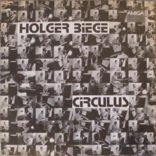 Schallplatte LP # HOLGER BIEGE - Circulus # Ostrock Amiga DDR 1979