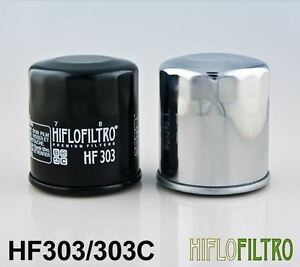 Yamaha  XVZ13 TFS Royal Star Venture S 1BM08-13 Hiflo Chrome Oil Filter