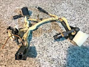 Stupendous Porsche 924S 944 1986 1991 Centre Console Wiring Loom For Clocks Wiring Digital Resources Dadeaprontobusorg