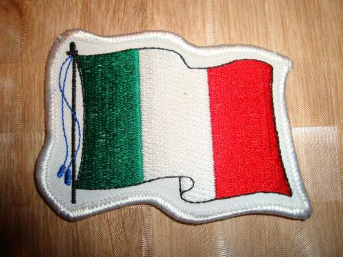 Flagge Design Patch ITALIEN ITALY Aufnäher