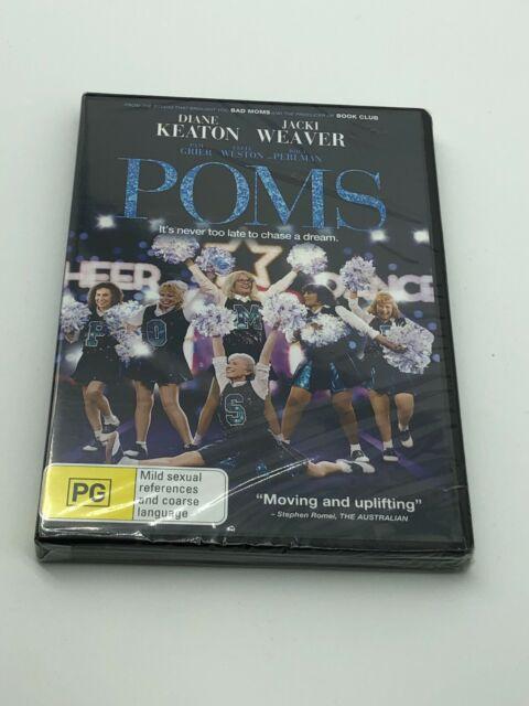 Poms (DVD, 2019) Brand New Sealed Region 4