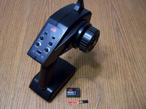 Spektrum STX2 2ch 2.4ghz Radio Transmitter /& SRX200 Receiver Rx Tx Arrma Axial