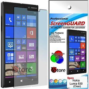 5 para Películas Nokia Lumia 830 Proteger Salva Pantalla LCD Película