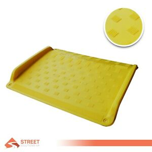 Plastic-Wheelchair-Ramp-Threshold-Scooter-Pet-Car-Mobility-with-Carry-Handle