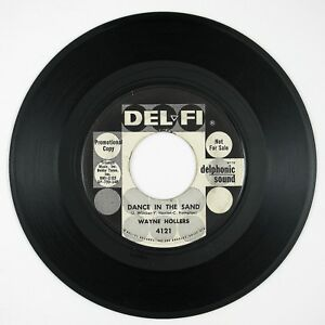 WAYNE-HOLLERS-Dance-In-The-Sand-Why-7IN-1959-ROCK-039-N-ROLL-VG-LISTEN