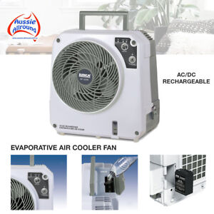 12 Volt Rechargeable Evaporative Portable Cooler Fan Air