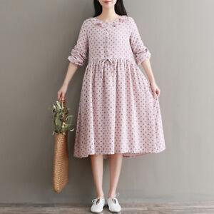7400178158 Japanese Elegant Long Sleeve Women's Mori Girl Crew Neck Falbala ...