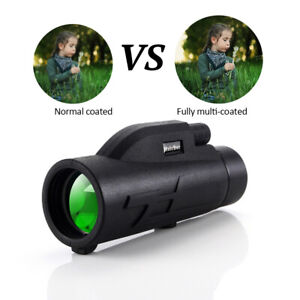 80X200 Pro Zoom Monocular BAK4 Night Vision Spyglass Telescope Gift