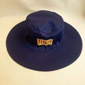 Tetley Bitter Cricket Style Hat, 60cm Blue, Summer, Stag Party, Barbaques