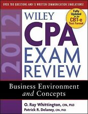 Wiley CPA Exam Review 2012 : Business Environment and Concepts-ExLibrary