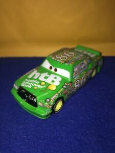 Mattel Disney Pixar Cars Chick Hicks Red Green 1:55 Diecast Collect Toy Loose