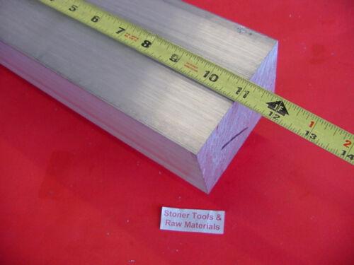 """2-1//2/"""" X 3-1//2/"""" ALUMINUM 6061 FLAT BAR 11/"""" Long Solid 2.500/"""" Plate Mill Stock"""