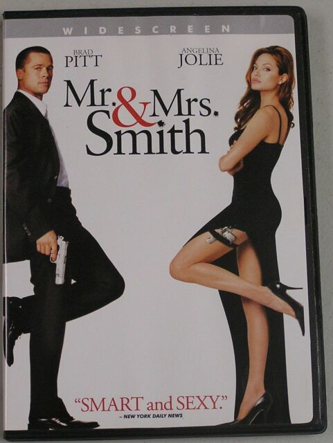 Mr And Mrs Smith Dvd 2005 For Sale Online Ebay