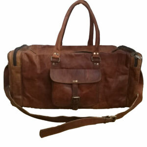 Small to X Large Men Leather Travel Bag Handmade Vintage Duffle ... d383a43dc4f38