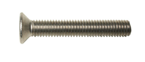 Posi CSK A2 stainless 25PK DIN 965 M4 X 30 Pozi Countersunk Machine Screws