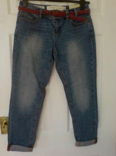 tonda Rrp scuro 8 indaco Cintura Taglia a 28 W31 blu rossa gamba Jeans Successivo 36 L28 £ Nuovo 46wqC6I