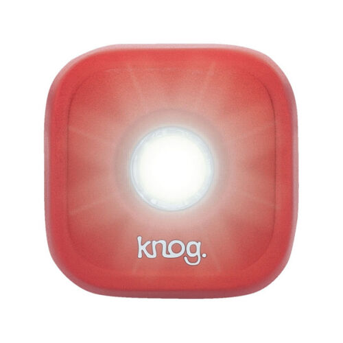 Knog Blinder 1 LED Rechargeable Front Light RedRoad Bike MTB Bicycle Fixie