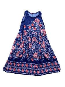 Avella Womens Plus Size Maxi Rose Print Dress  Size 22