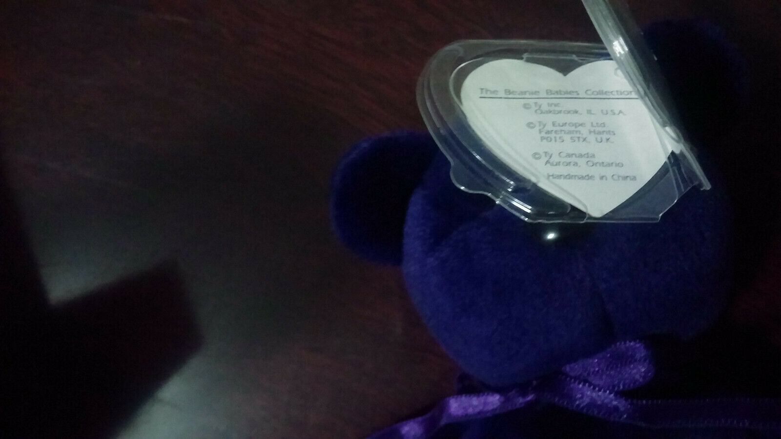 Princess Diana Beanie Baby NO SPACE RARE TY FIRST PRODUCTION